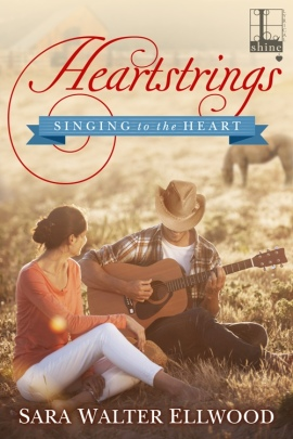 Heartstrings, Singing to the Heart, Sara Walter Ellwood, Contemporary Western Romance, Cowboys, Texas Romance, Native American Romance, Lyrical Press, Kensington Publishing