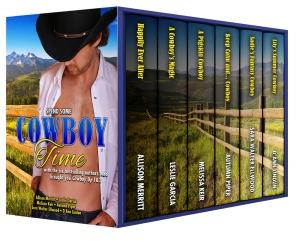 Cowboy Time, Cowboy Forever, Cowboy Up, Cowboy Up 2, Sara Walter Ellwood, Allison Merritt, Melissa Keir, Autumn Piper, D'Ann Lindun, Contemporary Western Romance, Boxed Set, Anthology, Novella, Cowboy Romance,