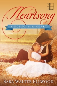 Heartstrings, Sara Walter Ellwood, contemporary western romance, cowboy romance, Texas romance, small town romance, Country Music star hero, Lyrical Press, Kensington Publishing, Heartsong, Heartland, Colton Gamblers, Singing to the Heart