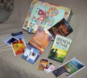 Contemporary western romance suspense author Sara Walter Ellwood blog hop prize