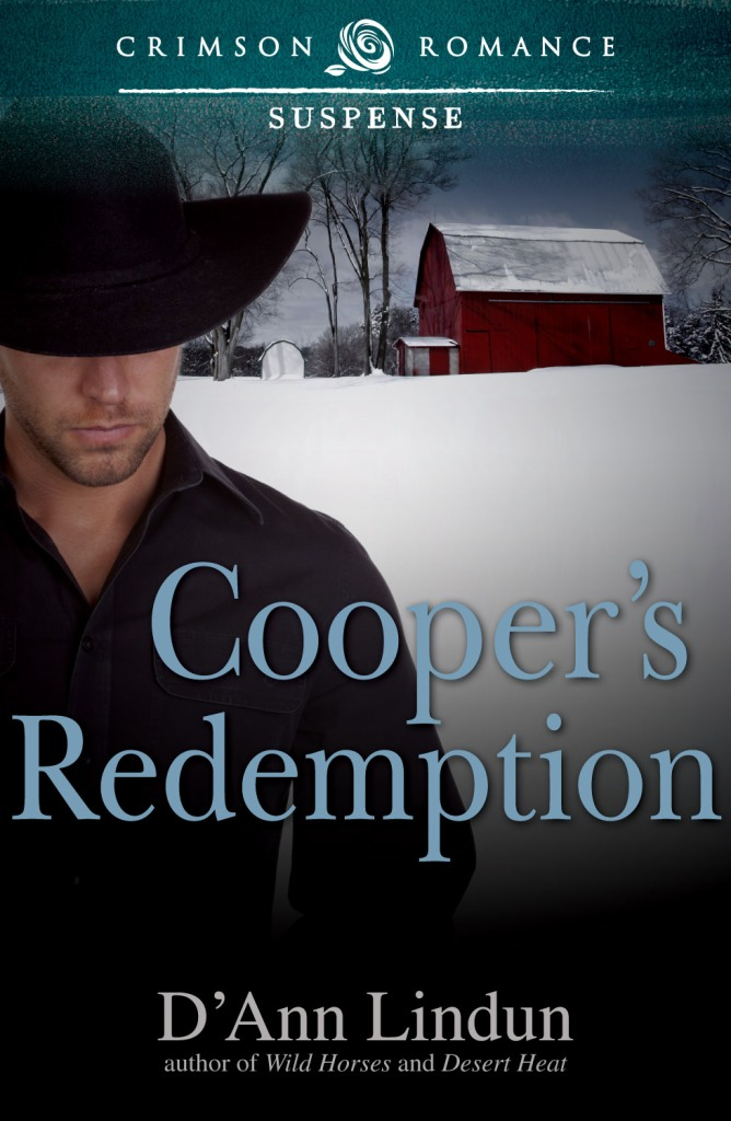 Cooper's Redemption by D'Ann Lindun, contemorary western romance.