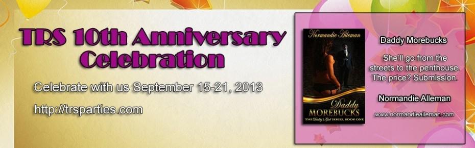 The Romance Studio 10th Anniversary Banner