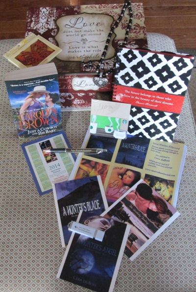 Second Honeymoon Book Tour Prize Package