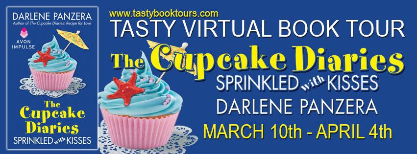 Darlene Panzera, The Cupcake Diaries, Sprinkled with Kisses, contemporary romance, Avon Impulse