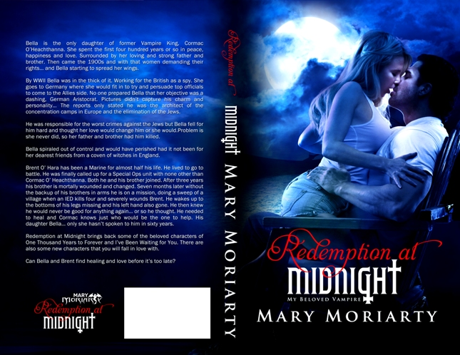 full cover Redemption at Midnight by Mary Moriarty