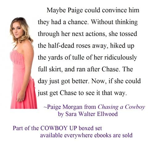 Sara Walter Ellwood, Chasing a Cowboy, Cowboy Up, Boxed Set, Anthology, Contemporary Western Romance, Cowboy Romance, Western