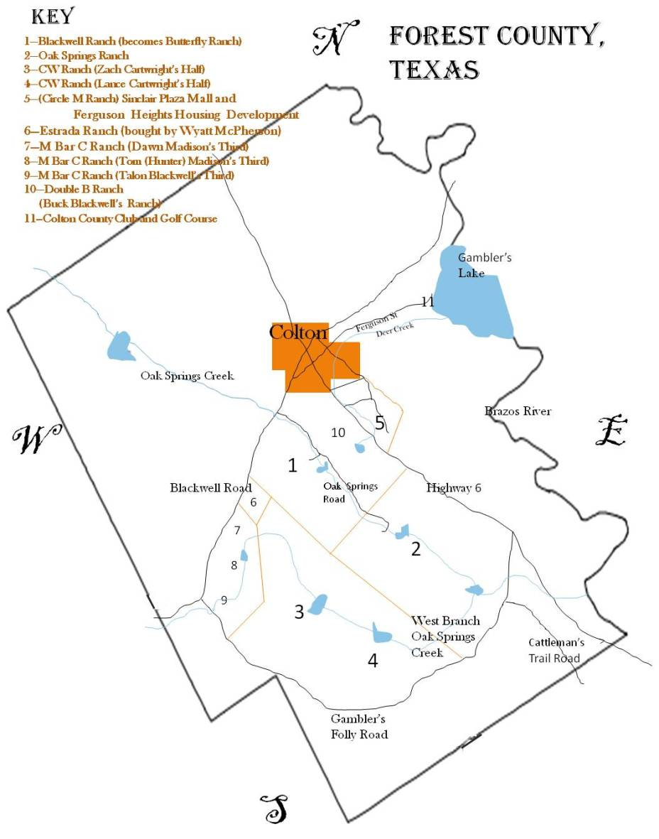 Forest County Map