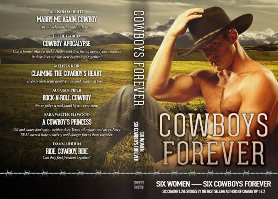 Cowboy Forever, Cowboy Up, Cowboy Up 2, Sara Walter Ellwood, Allison Merritt, Melissa Keir, Autumn Piper, D'Ann Lindun, Contemporary Western Romance, Boxed Set, Anthology, Novella, Cowboy Romance,