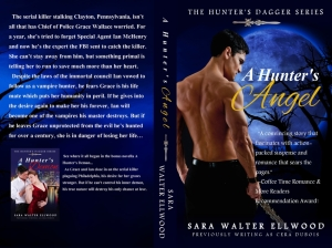 Cera duBois, Sara Walter Ellwood, A Hunter's Angel, A Hunter's Demon, The Hunter's Dagger Series, Vampires, Paranormal Romance